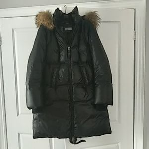 Mackage down coat with fur trim